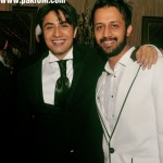 Atif Aslam with Ali Zafar at his birthday