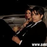 Ali Zafar with his bride Ayesha Fazli at wedding day