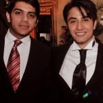 Goher Mumtaz with Ali Zafar at his wedding