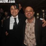 Ali Zafar with Ali Azmat at his wedding