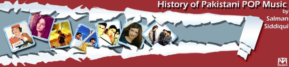 history of pakistani pop music