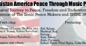Pakistan American Peace Through Music Project