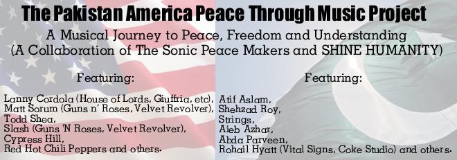 Pakistan American Peace Through Music Project