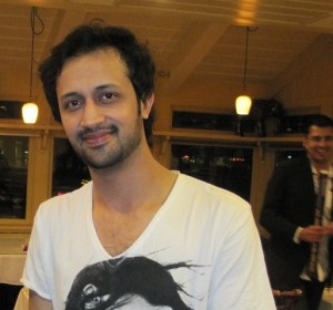 Atif Aslam smiling face pose
