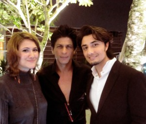Ali Zafar with Shah Rukh Khan