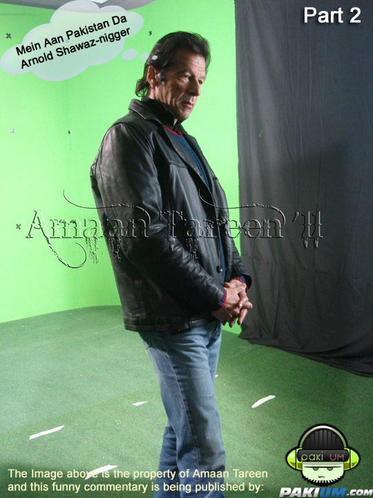 Imran Khan as Arnold Shewarzenager