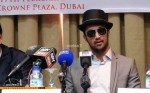 Atif Aslam's Press Conference at Dubai (1)