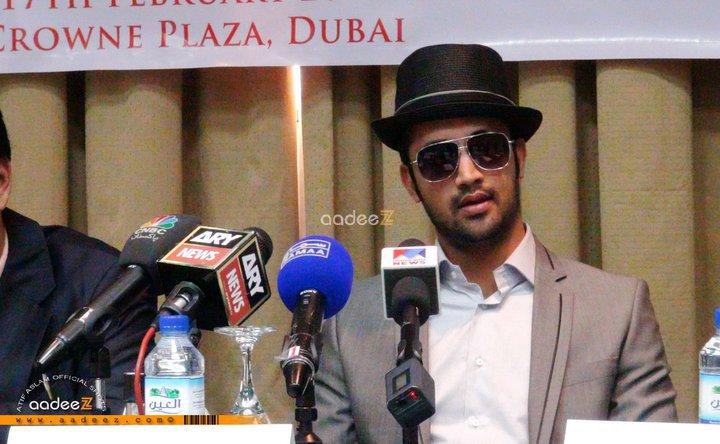 Atif Aslam Dubai Press Conference