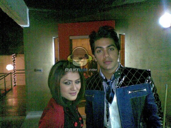 Goher Mumtaz(JAL) with Quratulain Balouch in Coke Studio