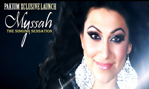 Myssah Pakistani Pop Female Sensation