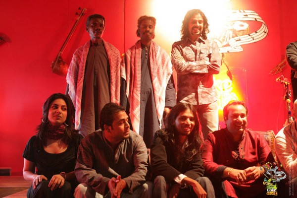 house band members of Coke Studio in First Season