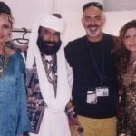 Akhtar Channal with Tariq Amin Hadiqa Kiani
