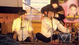 Pakistani Singer Javed Bashir performing in Doha