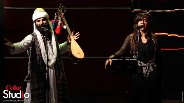 Akhtar Channal Komal Rizvi song Dannah Pah Dannah in Coke Studio