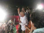 Ali Azmat addressing PTI Dharna in KArachi