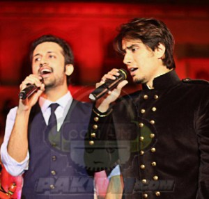 Atif Aslam and Ali Zafar together