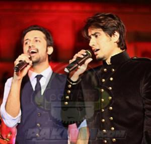 Atif Aslam and Ali Zafar together