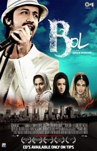 BOL MOVIE POSTER and MUSIC ALBUM
