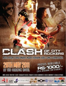 Clash of City Rockers -Rockstation featuring Noori,Karavan, Faraz Anwar, Mekaal Hasan and many UG Bands