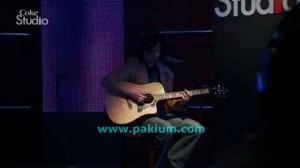 Faraz Anwar (Mizraab) in Coke Studio