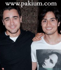 Ali Zafar and imran Khan