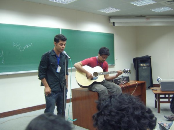 Ismail and Junaid at LUMS