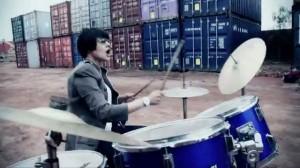 female drummer in faiza mujahid meri zindagi