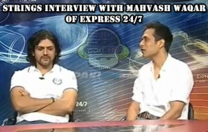 Strings Interview with Mahvash Waqar on Express 24/7