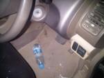 veena malik car accident pictures (2)
