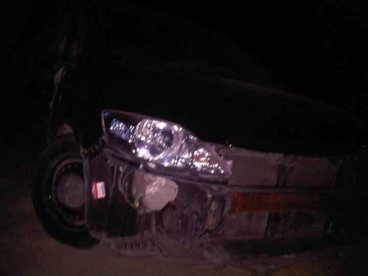 Pictures Veena Malik S Crashed Car On Motorway Pakium Pk