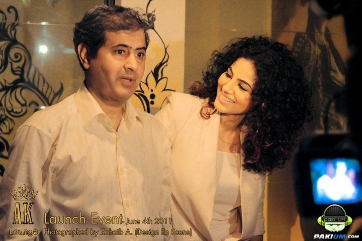 Annie Khalid S The Ak Lounge Launch Pictures Pakium Pk