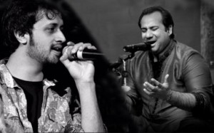 Atif Aslam and Rahat Fateh Ali Khan songs in Bollywood