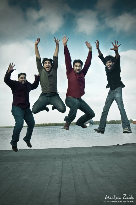 Noori Band jumping on achieving 100000 fans