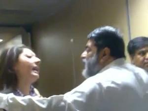 Sharmila Farooqui fighting with Ali mirza in aeroplane