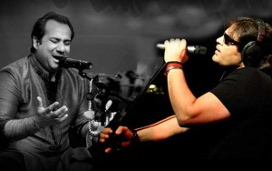 Classical musicians Rahat Fateh Ali Khan and Shafqat Amanat Ali Khan