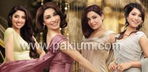 Lux beauties Reema, Meera, Humaima Mahira Khan