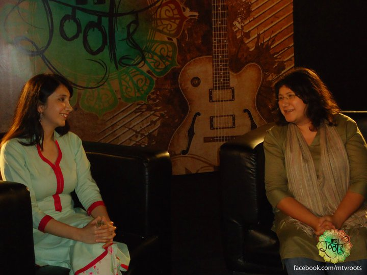 Zeb and Haniya at MTV Roots