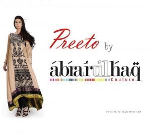 Abrar ul Haq Preeto Women Clothing Line