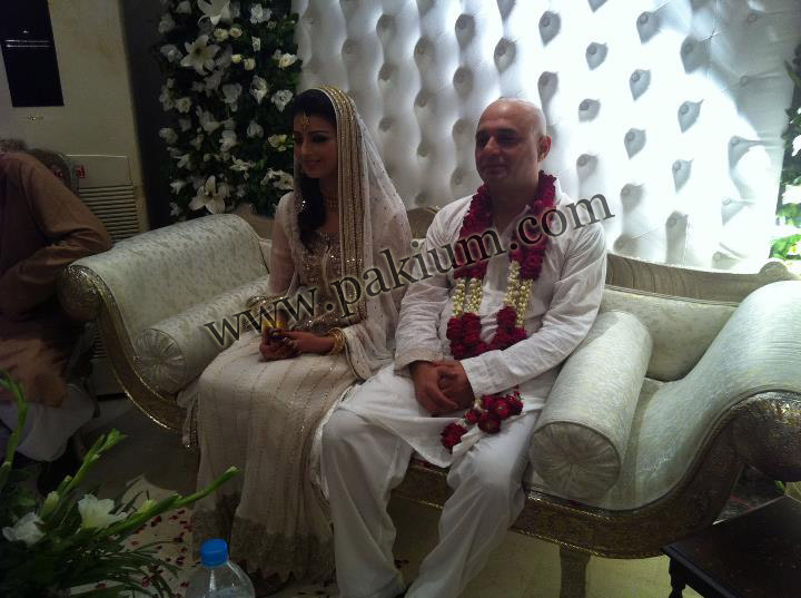 Ali Azmat Fariha Khan Wedding Photo Picture