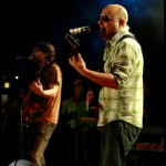 Ali Azmat performing live at expo center Karachi on microsoft event