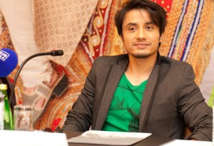 Ali Zafar at the press conference / Premiere of Mere Brother Kee Dulhan