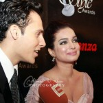 Ammar Bilal and Amina Haq at 10th Lux Style Awards