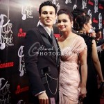 Ammar Belal and Amina at 10th Lux Style Awards 2011