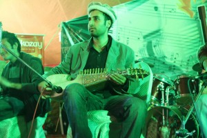 Farhan Bogra playing Rubab