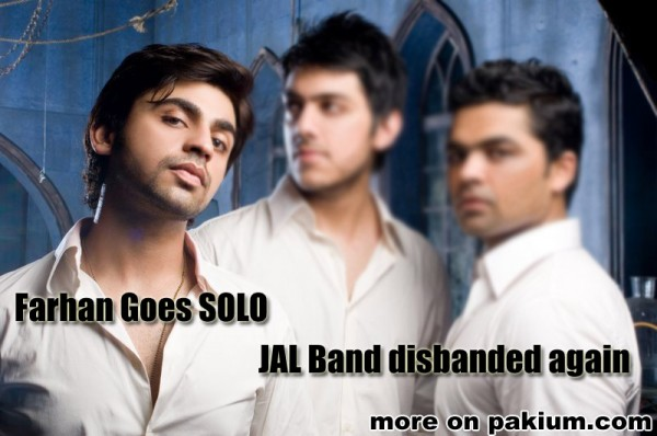 Farhan Goes Solo , Jal Band Broken Again