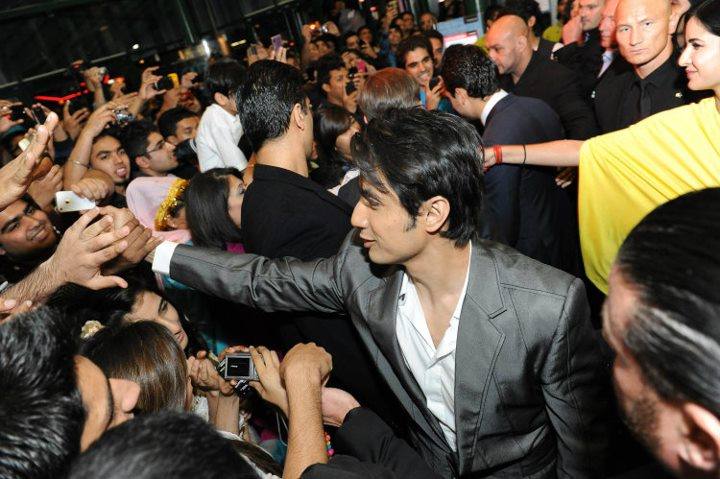 Ali Zafar at the premiere of Mere Brother Ki Dulhan London Premiere