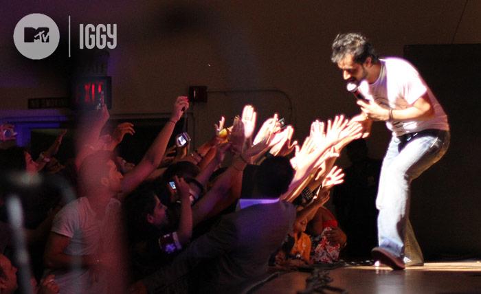 Atif Aslam live at MTV Iggy concert