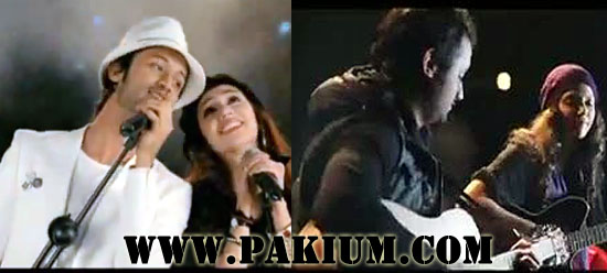 Atif Aslam with Mahira Khan and Hadiqa Kiani in BOL