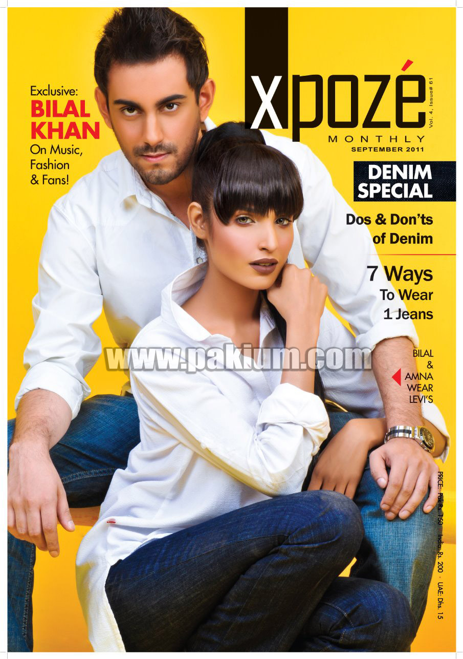 Bilal Khan and Amna Ilyas for Xpoze Magazine