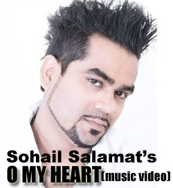 Sohail Salamat O my heart music video